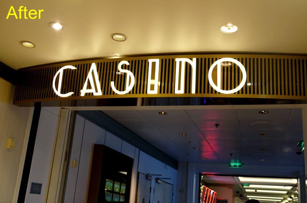 カジノの入口