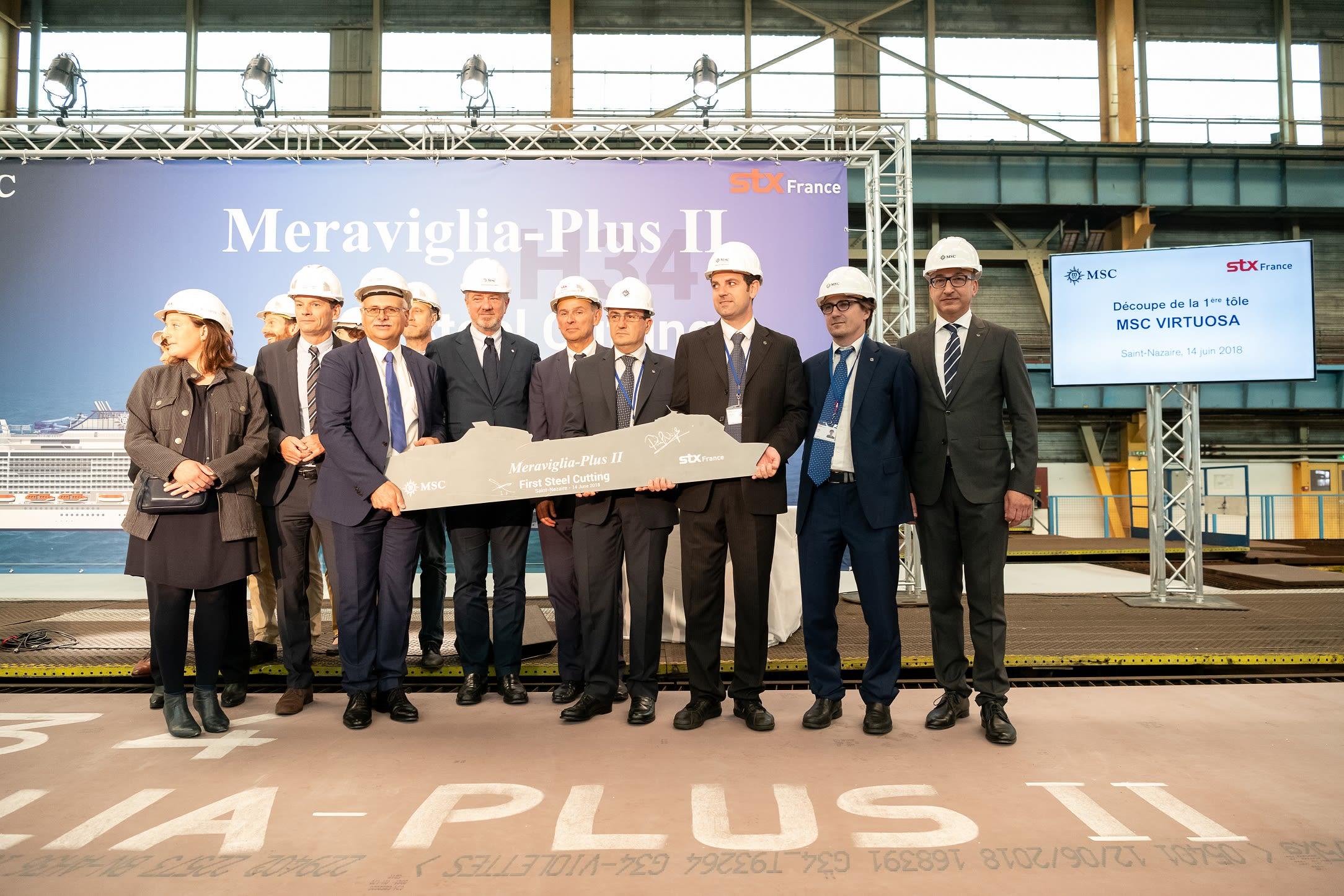 MSCクルーズ、5隻目のメラビリア世代客船を発注
