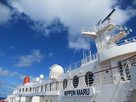 にっぽん丸のグアム港事故で、船長からアルコールを検出