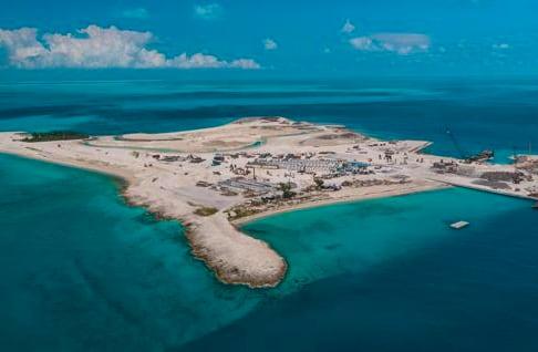 MSC、プライベート・ビーチ「オーシャン・ケイ」建設最終フェーズ