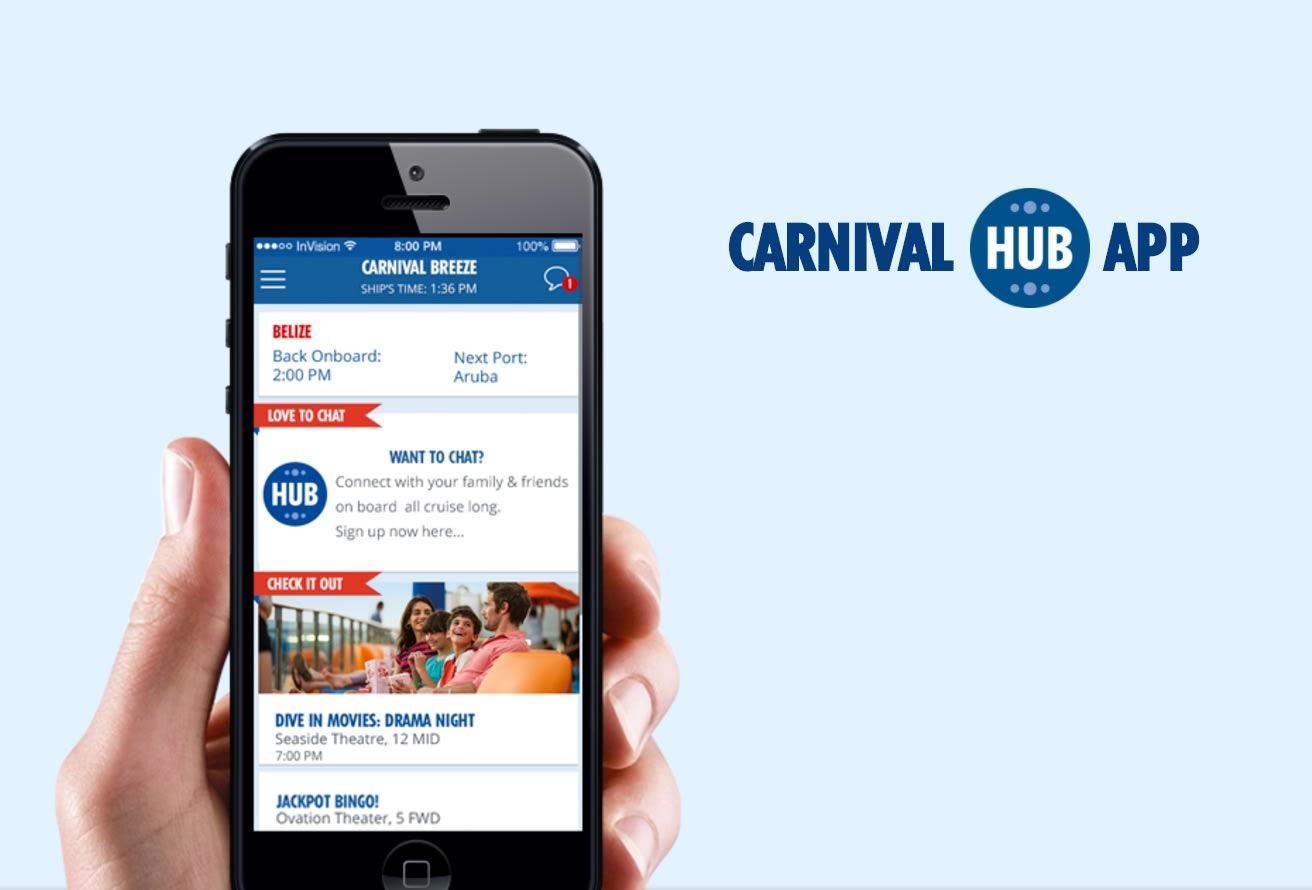 カーニバル、「Carnival HUB」アプリをオーストラリアにも拡大