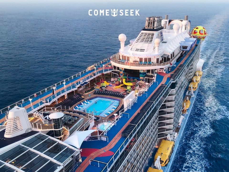 最新客船スペクトラム・オブ・ザ・シーズの最新エンターテイメント