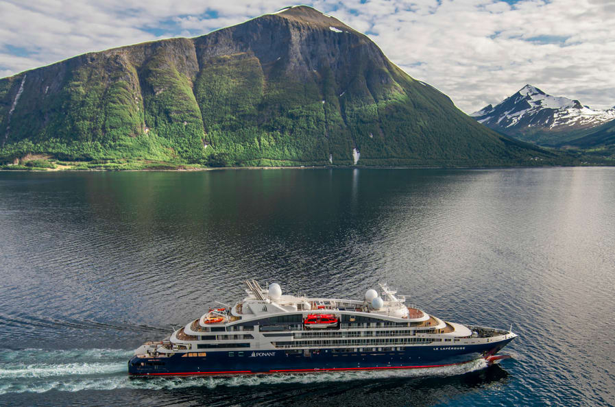 ポナン、最新客船ル・ラ・ペルーズの処女航海