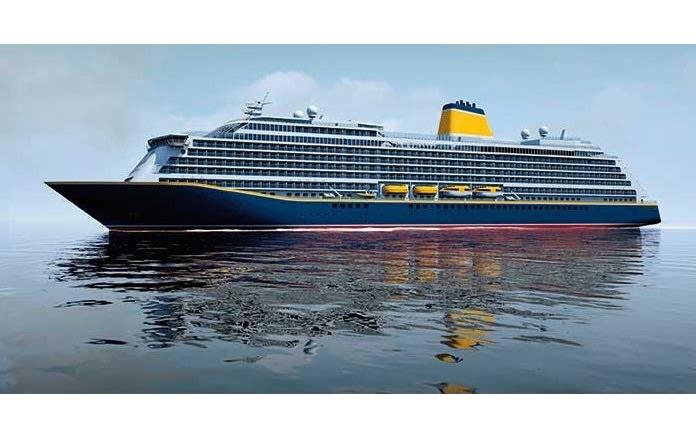 サガ・クルーズ、2019年就航の新客船のイメージ画像公開