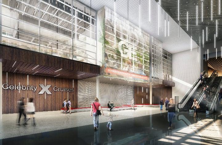 セレブリティ・クルーズ、最新ターミナル「T25」の概要を発表