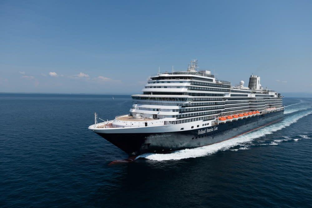 最新客船ニュースタテンダム、2度の航海テストを完了