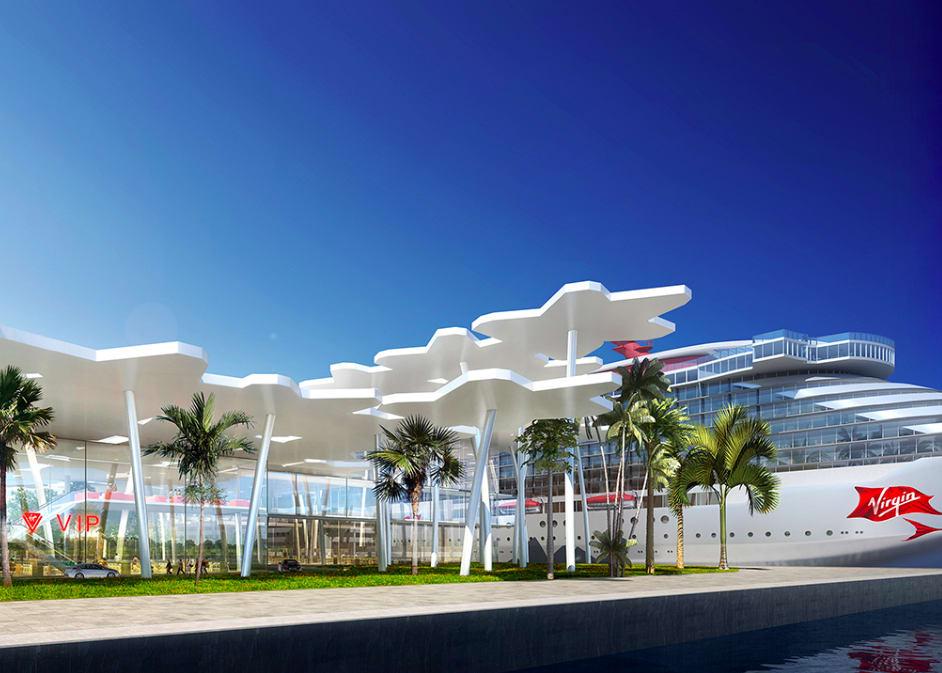ヴァージン・ボヤージュ、マイアミに専用ターミナル建設
