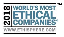 ロイヤル・カリビアン、「世界で最も倫理的企業」選出