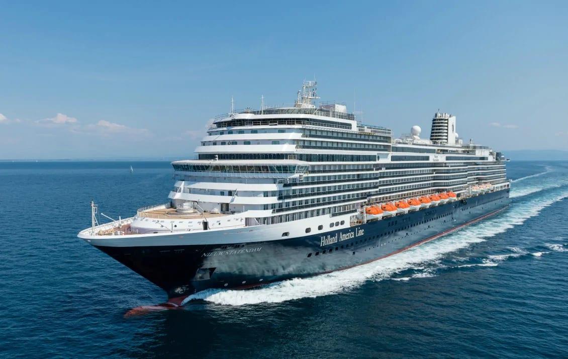 ホーランド、最新客船ニュー・スタテンダム受け渡し