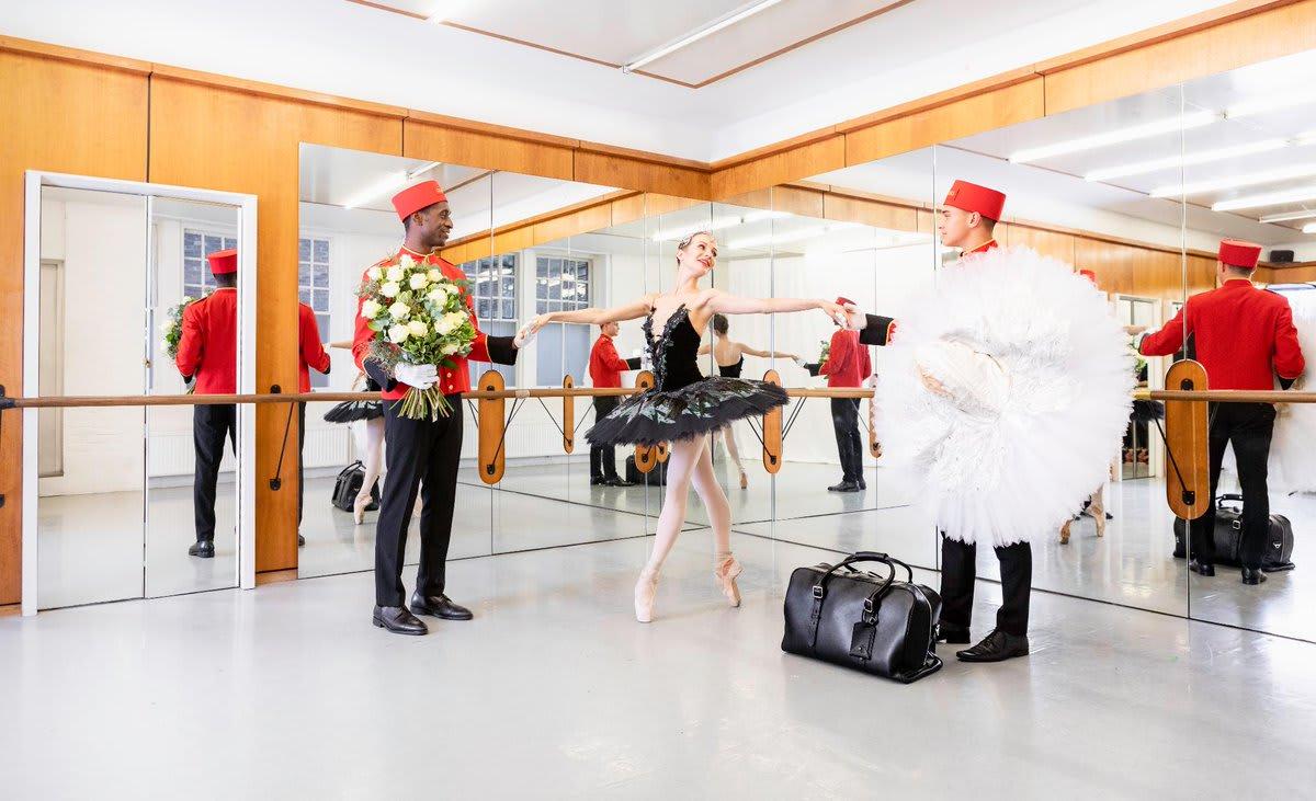 キュナード、英国・ナショナル・バレエ団とパートナーシップ