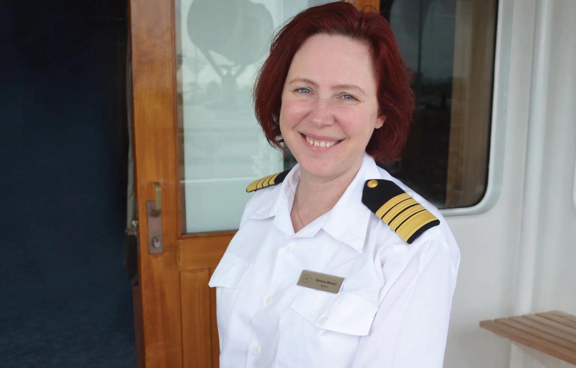 リージェント・セブンシーズ、最新客船は女性キャプテン