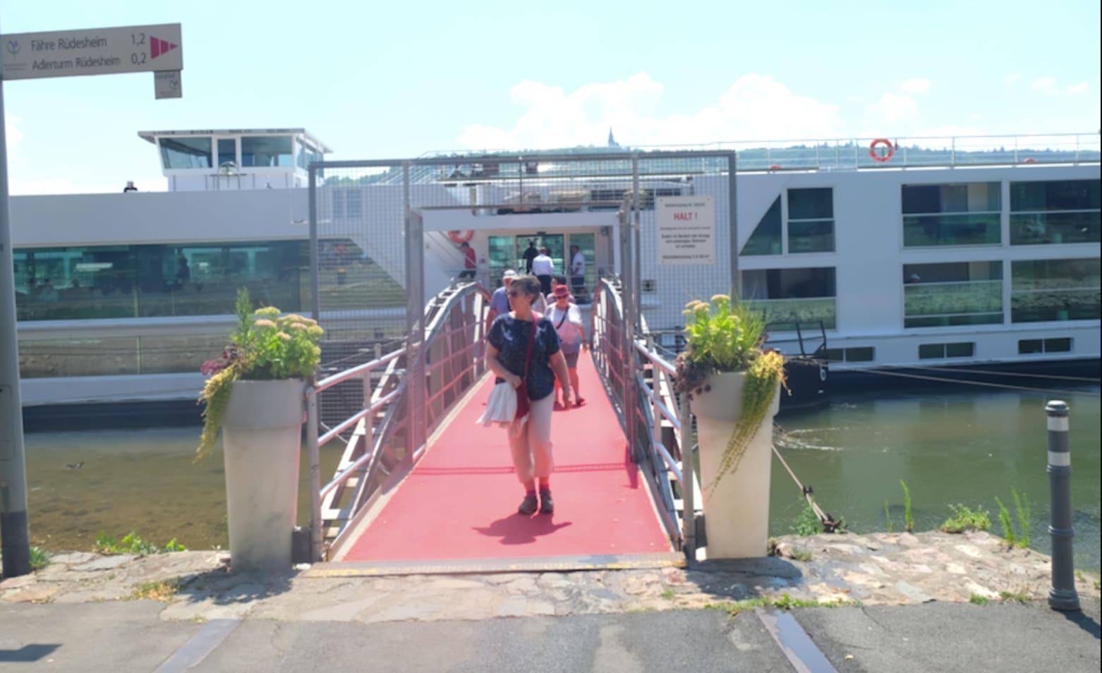 【乗船Day5】クロワジー・ヨーロッパ 乗船レポート・「ロマンティック・ライン」(リューデスハイム/ライン川)