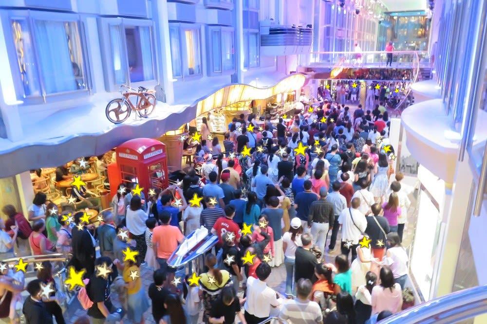 ロイヤルプロムナードで深夜までダンス♪~フライ&クルーズで香港発着ボイジャー・オブザシーズ乗船記ー2019.8月・本編6-5【抜粋版】