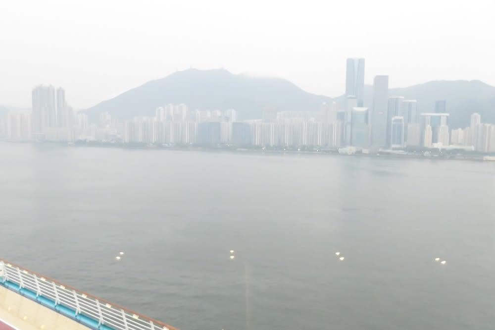 香港・啓徳クルーズターミナルに入港♪~フライ&クルーズで香港発着ボイジャー・オブザシーズ乗船記ー2019.8月・本編7-1【抜粋版】