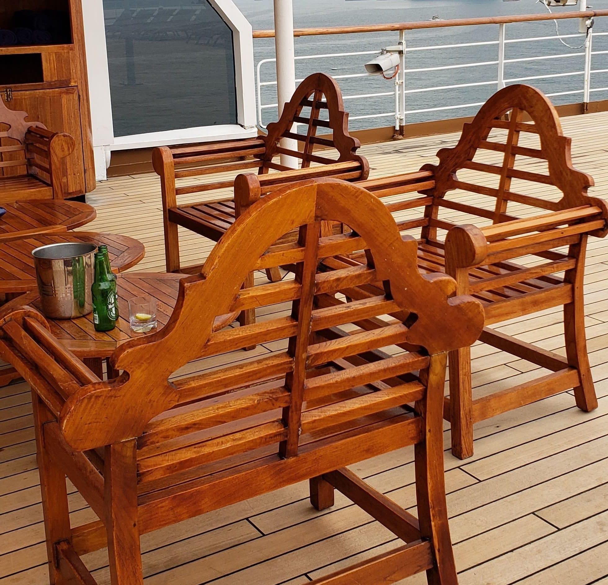 ホーランドアメリカ―MSウェステルダム乗船記 船内紹介編(1)懐かしさと現代、意外とハイテクなクルーズ船
