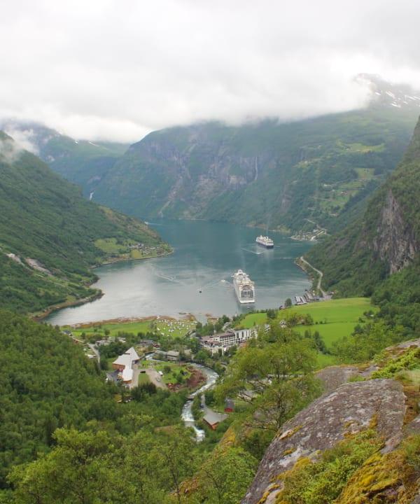 ノルウェーフィヨルド、北海