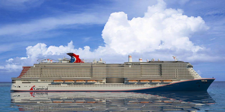 カーニバル最新客船マルディ・グラ、これまでの売上記録を更新
