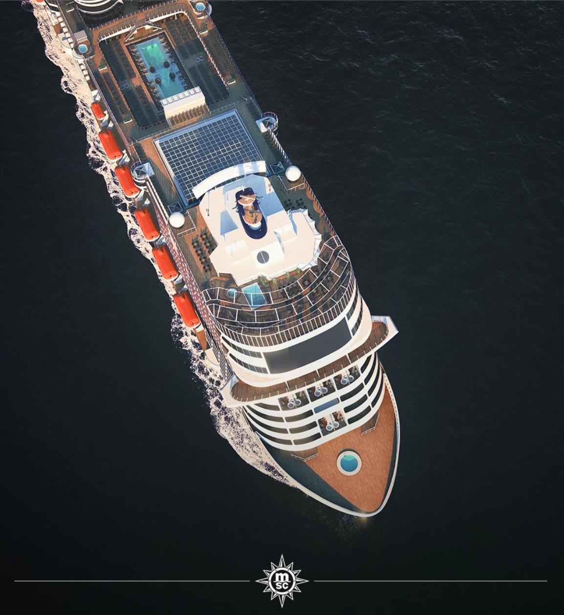 MSC最新客船グランディオーサのイメージ動画公開