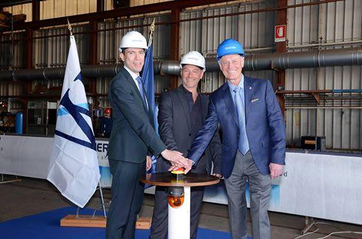 ウィンドスター、フィンカンティエリで船体延長の為の竣工式を開催