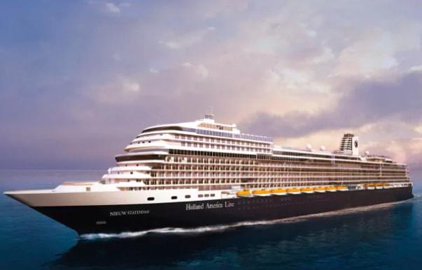 ホーランド最新客船ニュー・ステンダム、ヨーロッパクルーズを発表