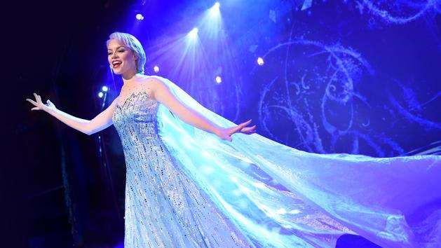 ディズニー・ワンダーの新舞台「Frozen, A Musical Spectacular」のメイキング映像
