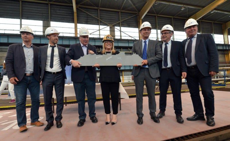 セレブリティ、最新客船セレブリティ・エイペックスの建造開始