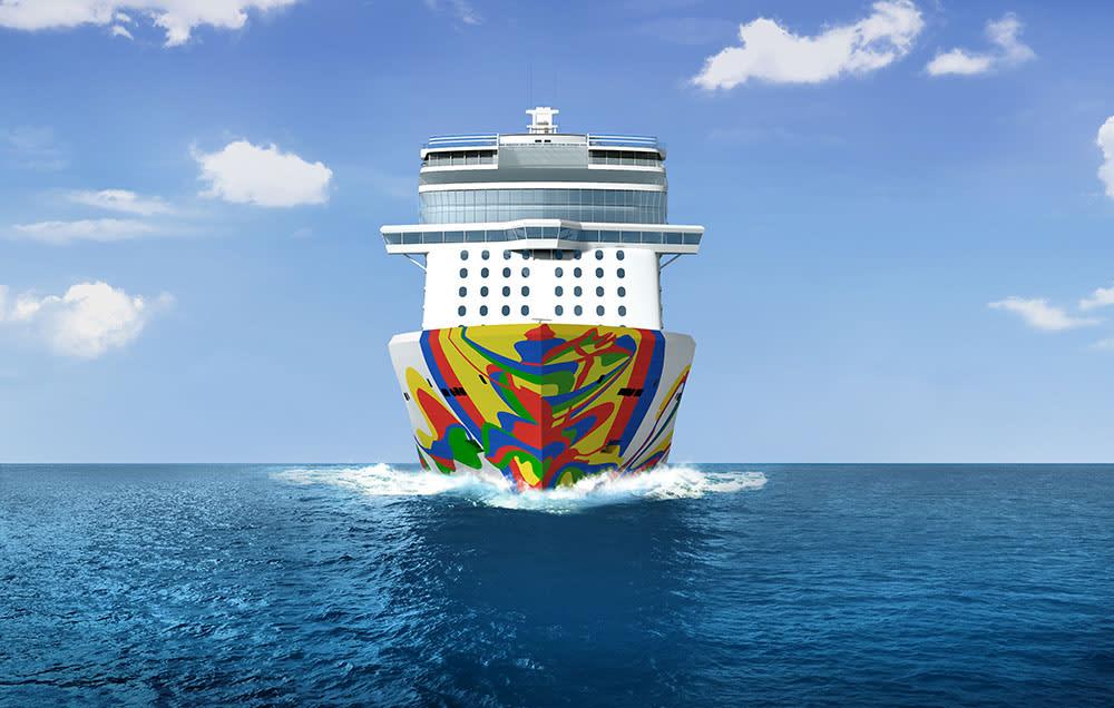 ノルウェージャン・アンコールの船体デザインが公開