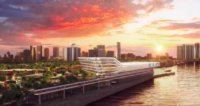 MSC、2022年に完成予定のマイアミ・新ターミナルについて発表