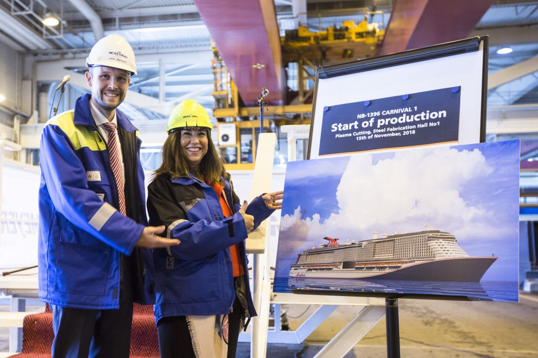 カーニバル・クルーズ・ライン、最新LNG客船の建造開始