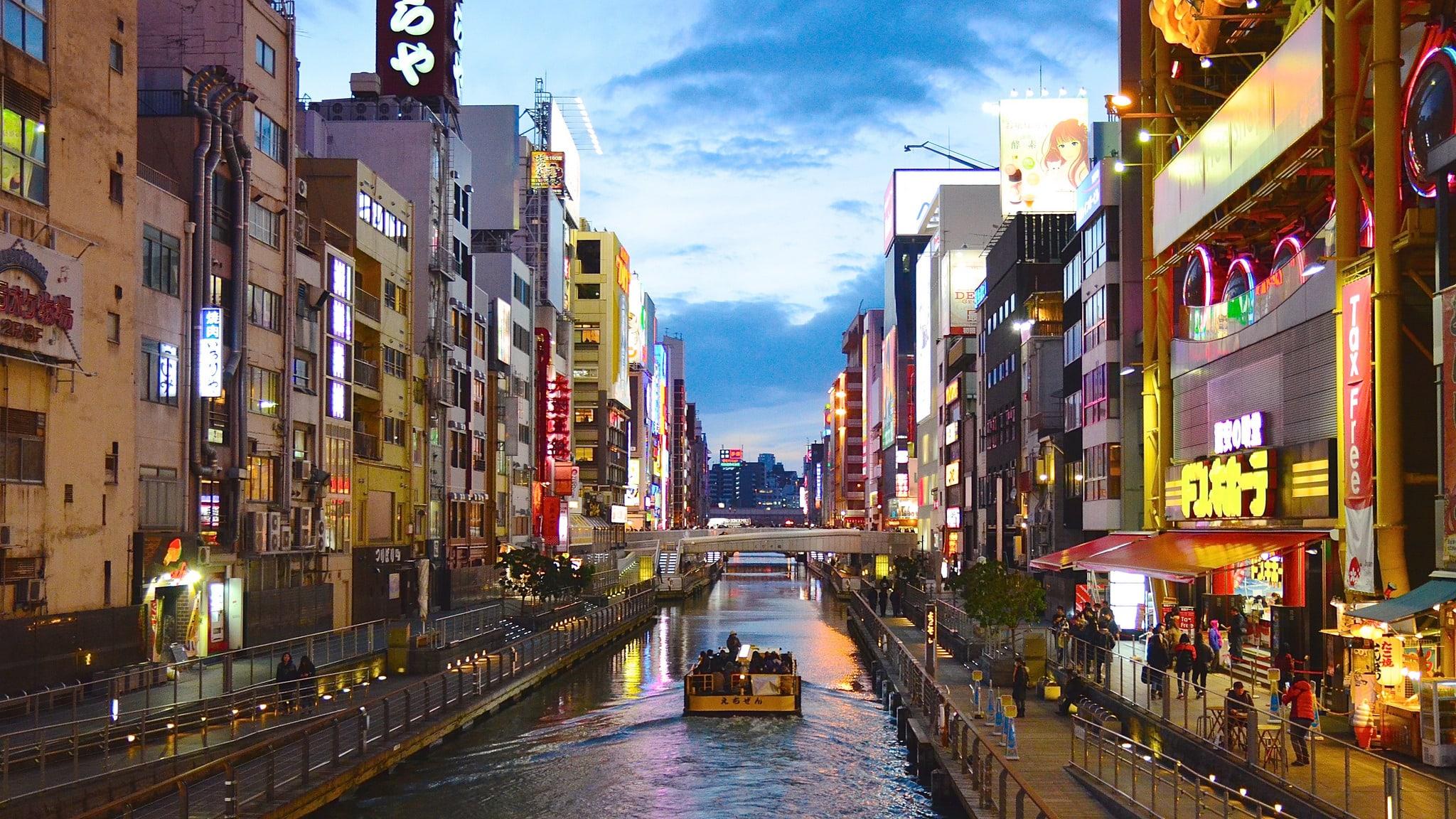 ゴールデン・プリンセスが大阪港に初寄港