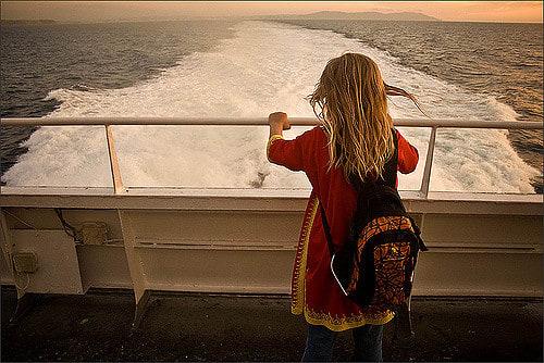 ハーモニー・オブ・ザ・シーズが新拠点フロリダに向けて大西洋を横断中