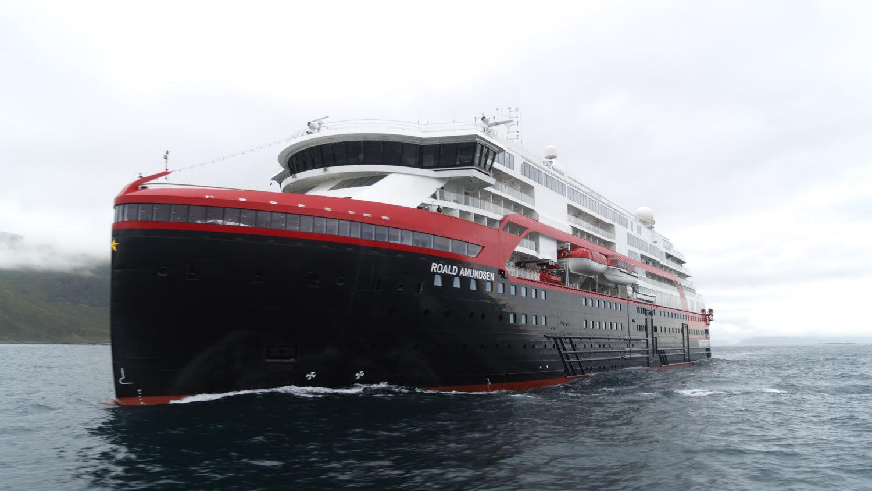 フッティルーテンの最新船ロアール・アムンセン、処女航海出発日を変更