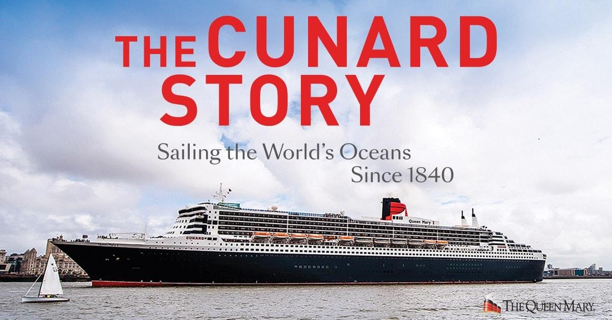 ロングビーチのホテルシップQM船上で常設展示「キュナード・ストーリー」