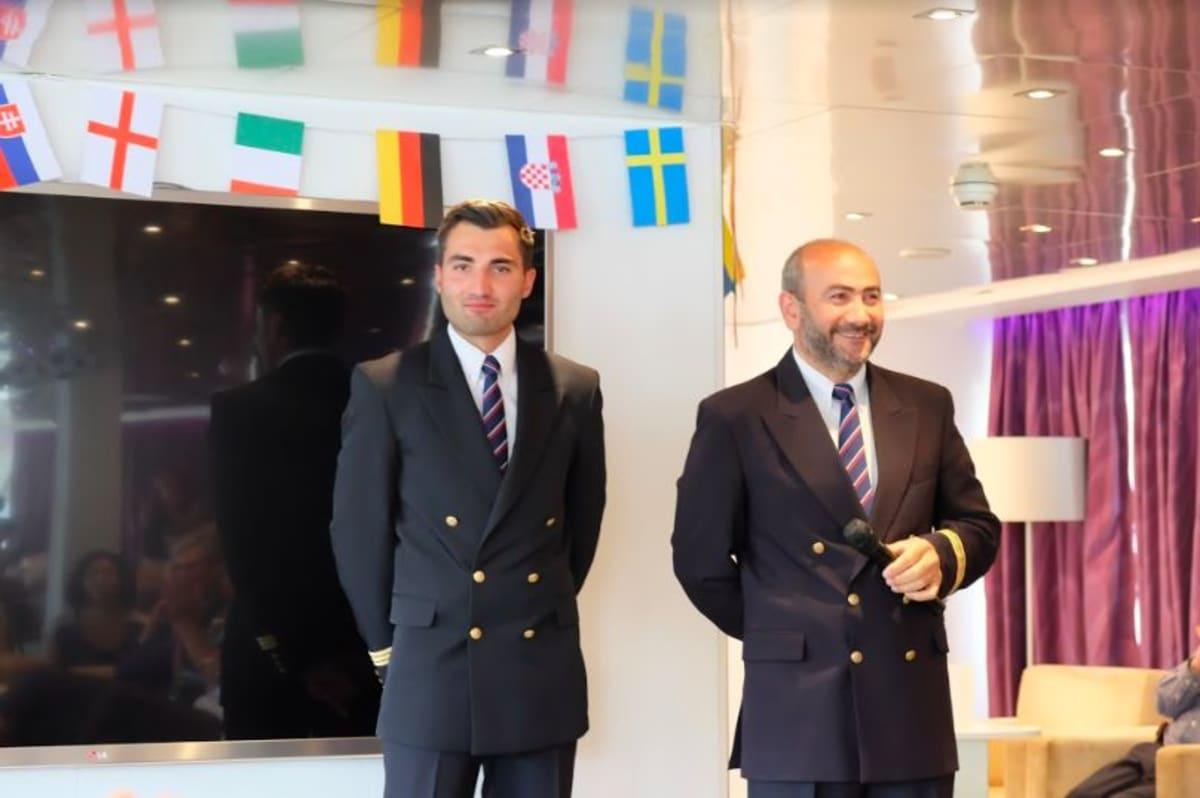 副船長と船長