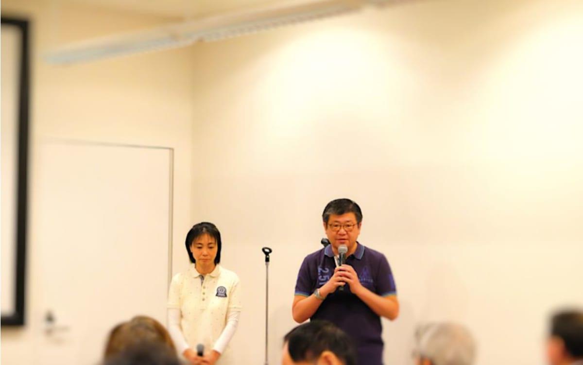 オーバーシーズ・トラベルの本郷氏(写真右)と三尾氏(写真左)