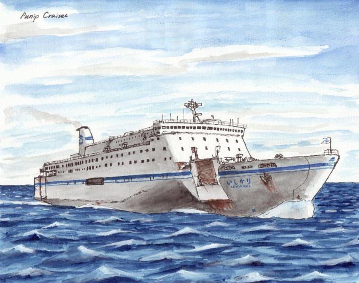 フェリー 太平洋