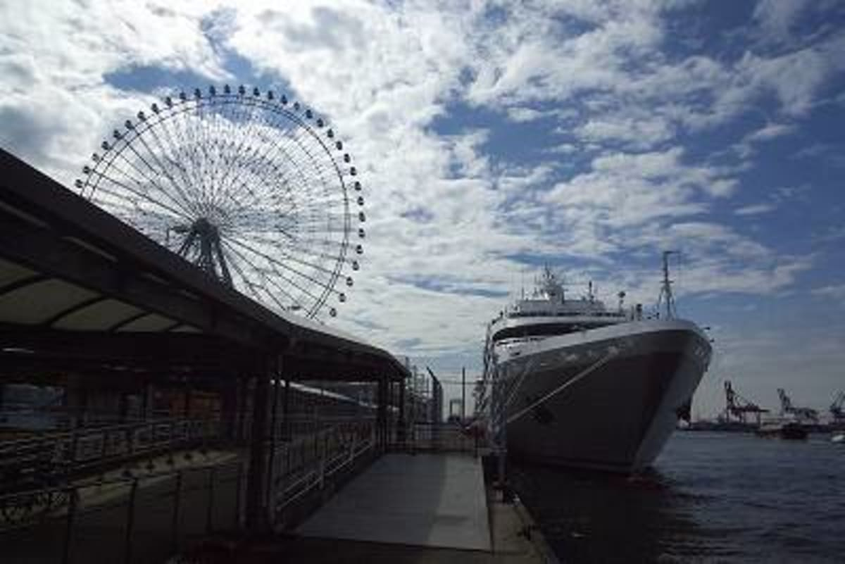 大阪天保山への旅 その3 昼食