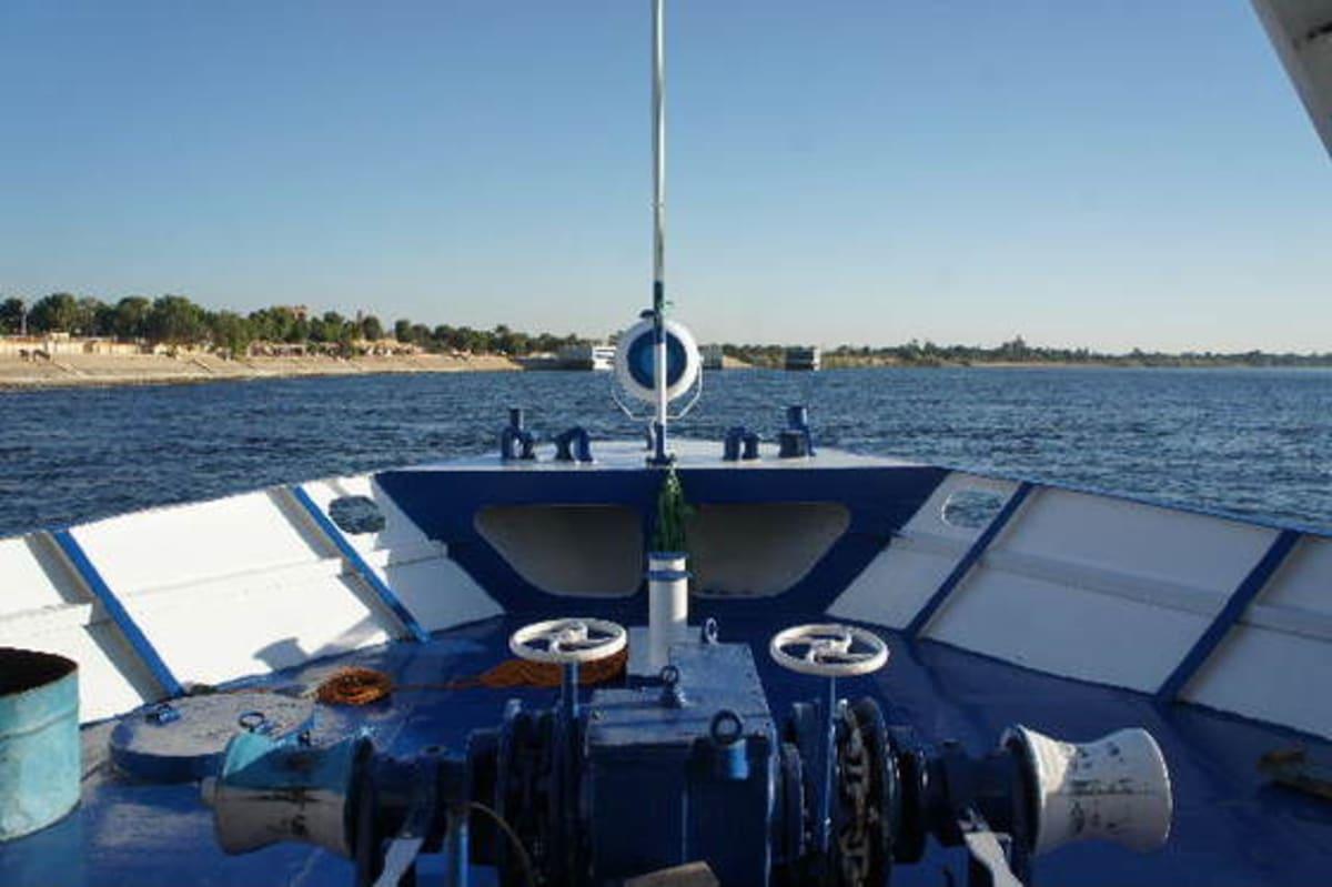 ナイル河最後の寄港地コムオンボ:紀元前の神秘の息吹 エジプト悠久ナイル1人船旅
