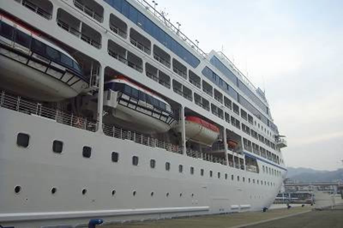 Oceania Cruises 「Nautica」船内見学会 その1