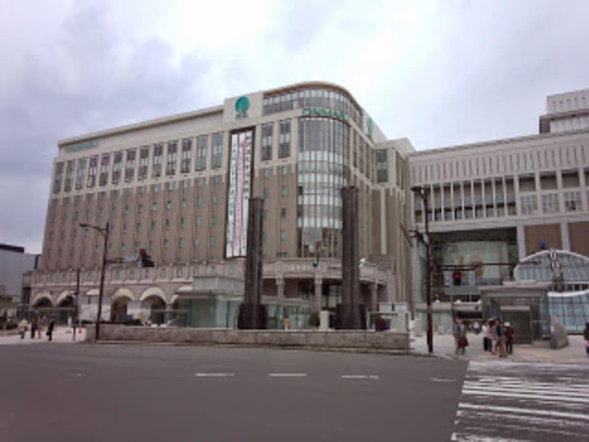 札幌駅構内にある大丸。8階のレストラン街は有名で、ザ・ビュッフェに行きました。