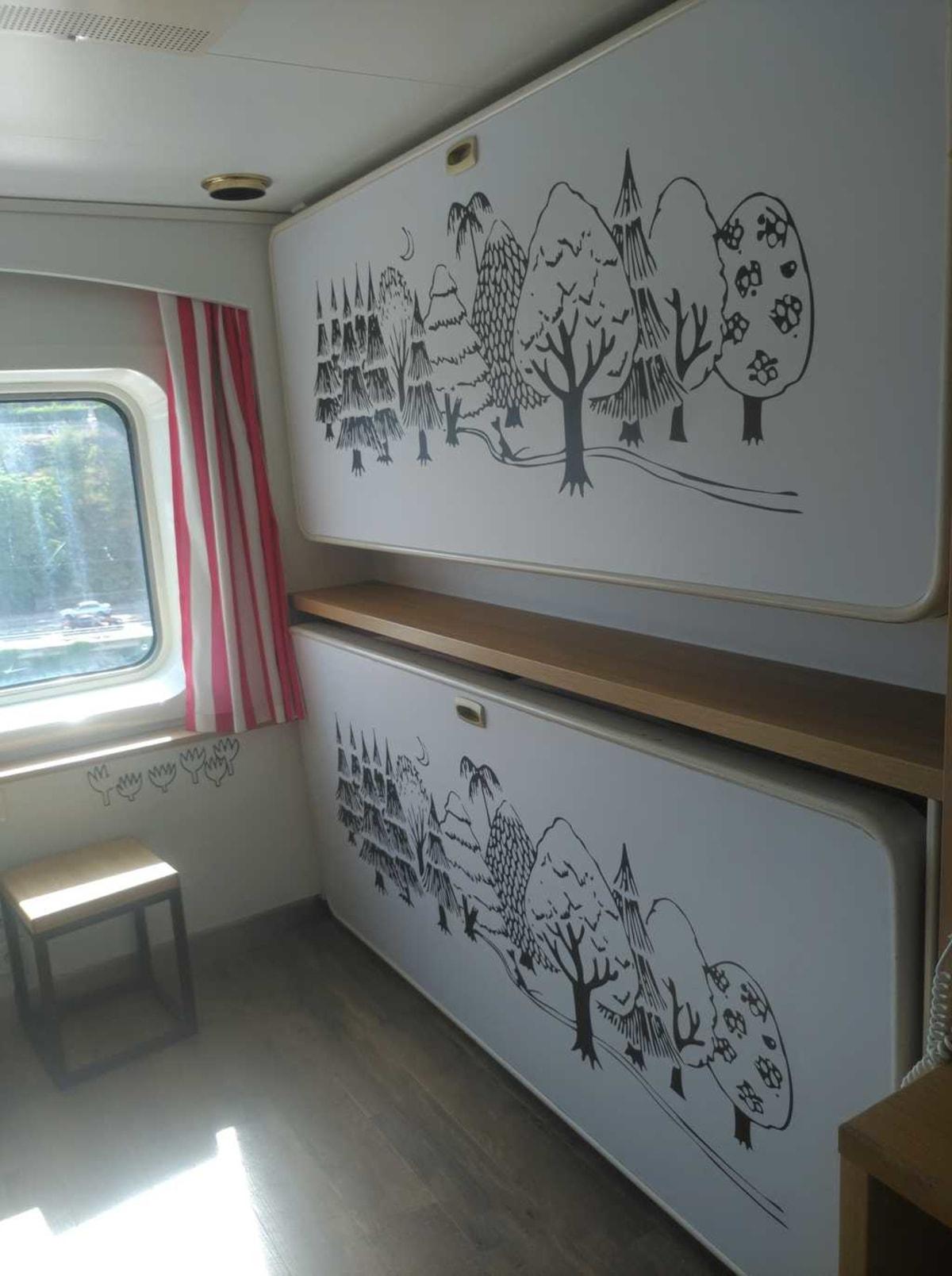 客船シリヤ・セレナーデの客室