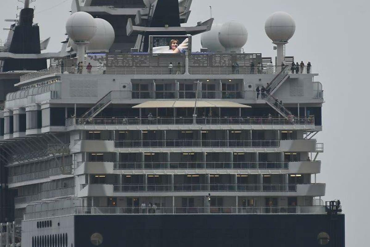 客船セレブリティ・ミレニアムの外観