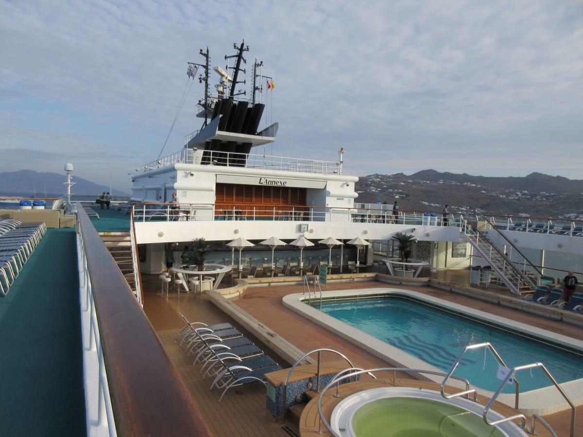 Horizon号上甲板 | 客船プルマントゥール・ホライズンの船内施設