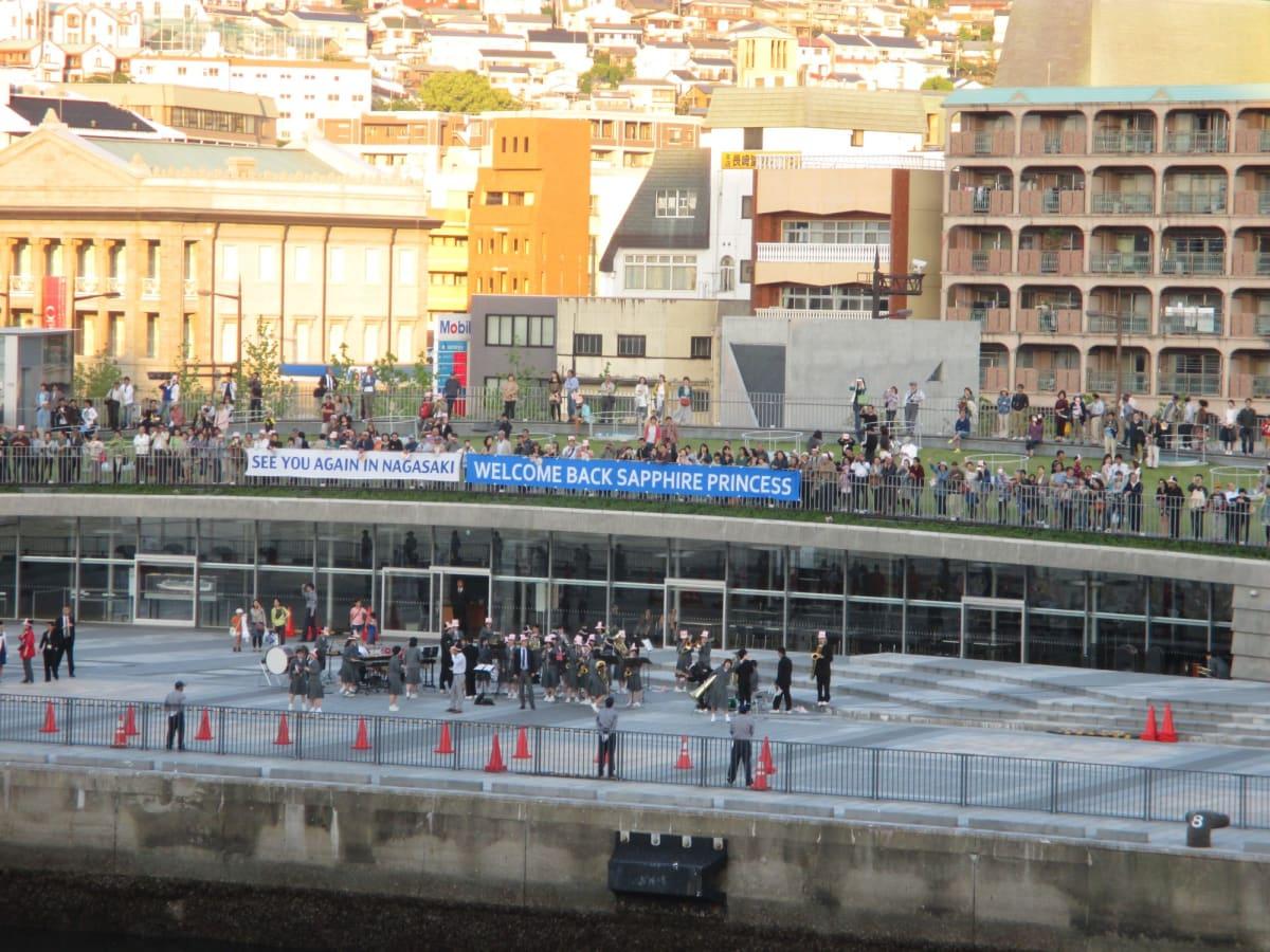 生まれ故郷の長崎。歓迎ぶりが違います。 | 長崎
