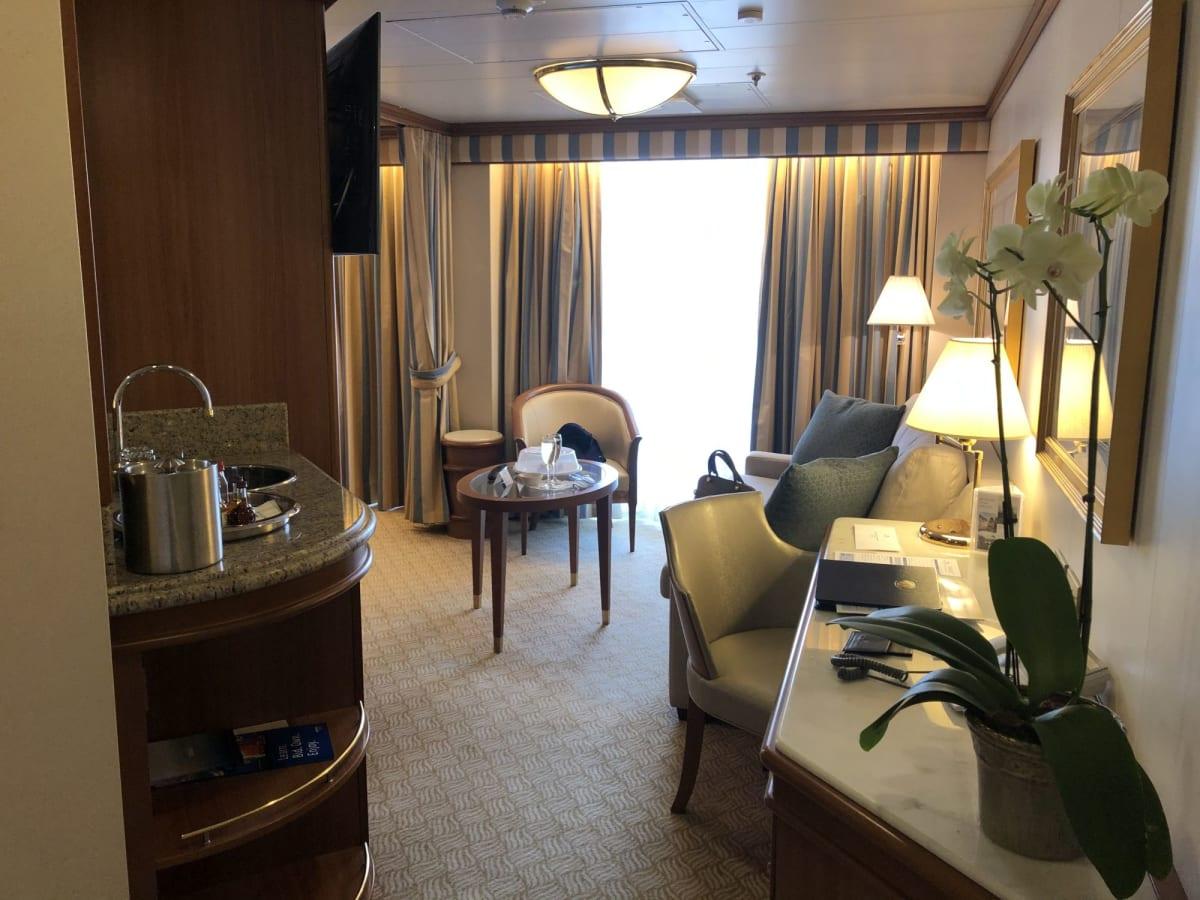 客船ルビー・プリンセスの客室