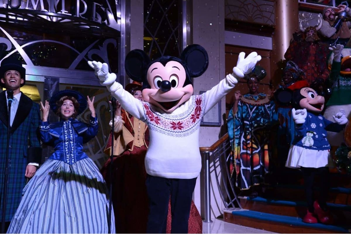 客船ディズニー・マジックのアクティビティ、船内施設