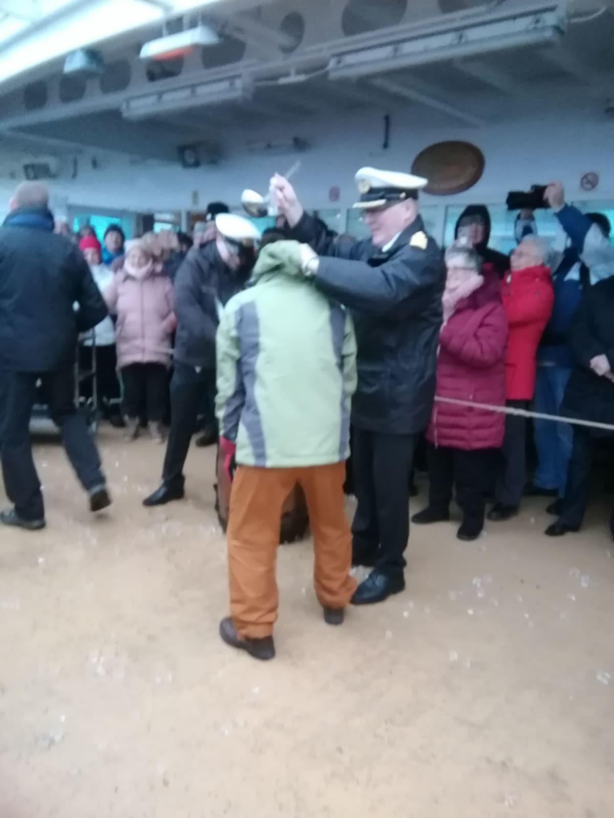 北極圏突入儀式