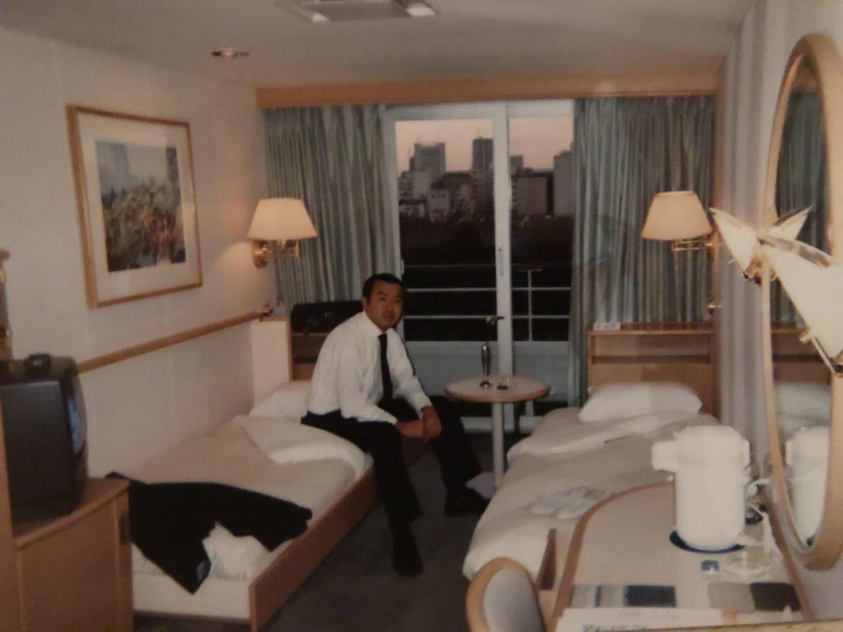 同僚と宿泊。 | 客船飛鳥の客室