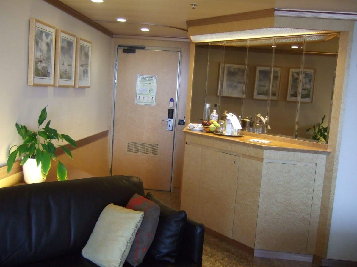 客船ロッテルダムの客室