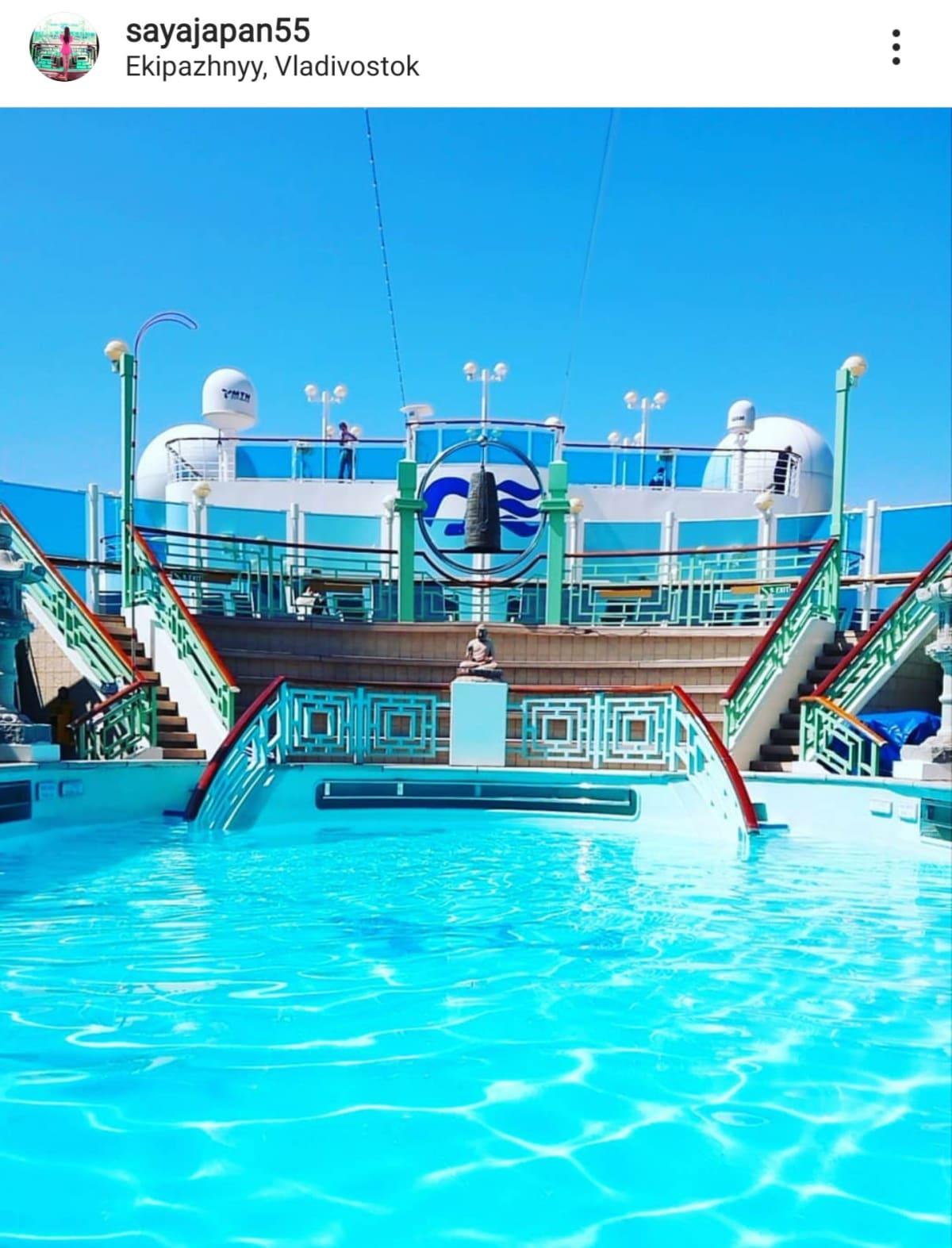 プールジャグジー最高 | 客船ダイヤモンド・プリンセスの船内施設